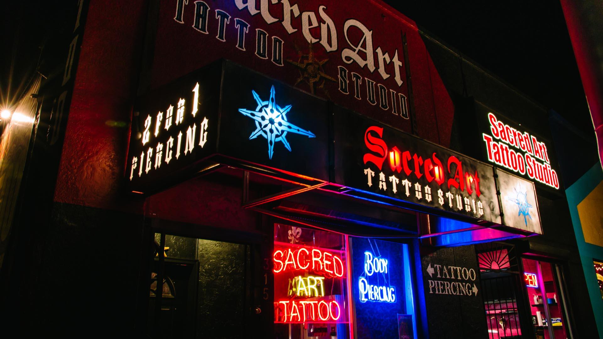 7fcb84ac7 Tattoo, Piercings - Sacred Art Tattoo Studio - Tucson, Arizona